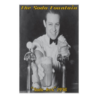 Soda Jerk - Custom Poster Or Print
