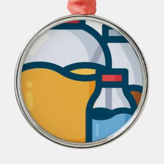 Soda Juice Water Metal Ornament