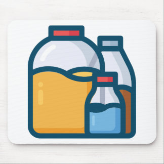 Soda Juice Water Mouse Pad