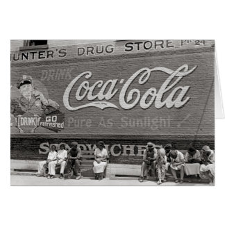 Soda Pop Billboard, 1939 Card