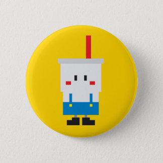 Soda-pop Button - Yellow