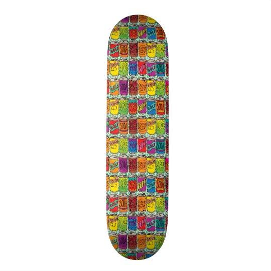 Soda Pop Cans Skateboards