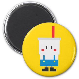 Soda-pop Magnet - Yellow