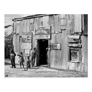 Soda Shack, 1940s Postcard