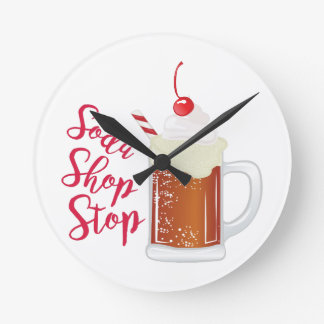 Soda Shop Stop Clocks