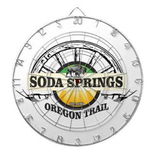 soda springs oregon trail art dartboard