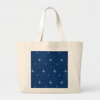 Sodalite Blue & Bright Stars. Jumbo Tote