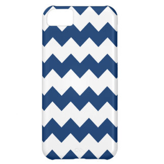 Sodalite Blue Modern Zig Zag iPhone 5 Case