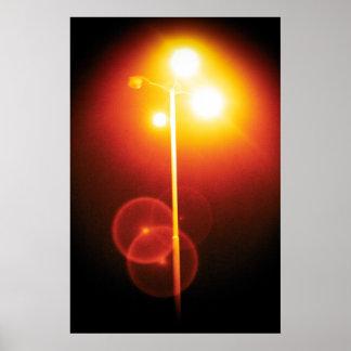 sodium vapor light poster