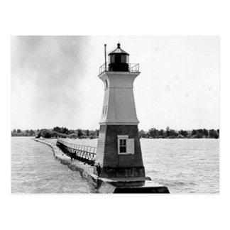 Sodus Outer Lighthouse Postcard
