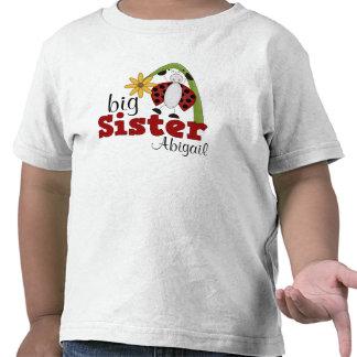 Soeur de fleur de marguerite de coccinelle grande t-shirts