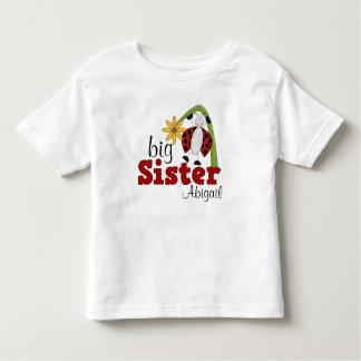 Soeur de fleur de marguerite de coccinelle grande t-shirt