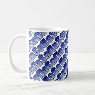 Sofia Blue White Mug