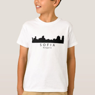 Sofia Bulgaria Skyline T-Shirt