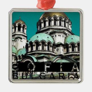 Sofia Bulgaria Souvenir Metal Ornament