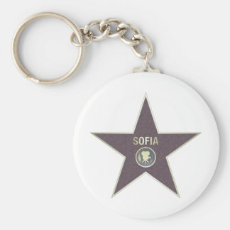 SOFIA-MOVIE-STAR KEYCHAIN