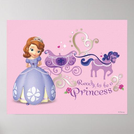 Sofia : Préparez pour être une princesse Posters