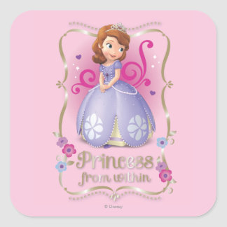 Sofia: Princess from Within Square Sticker