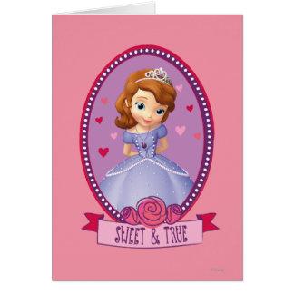 Sofia Sweet and True Card