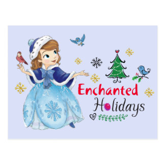 Sofia the First | Enchanted Holidays Postcard