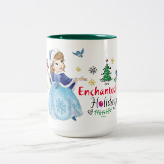 Sofia the First | Enchanted Holidays Two-Tone Coffee Mug