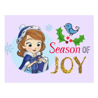 Sofia the First | Season Of Joy Postcard