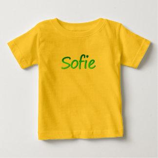 Sofie Short Sleeve t-shirt in Yellow