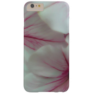 Soft and delicate Pink Petunias Barely There iPhone 6 Plus Case