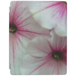 Soft and delicate Pink Petunias iPad Cover