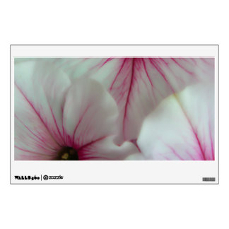 Soft and delicate Pink Petunias Wall Sticker