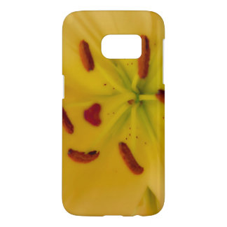 Soft and Dreamy Yellow Lily Samsung Galaxy S7 Case