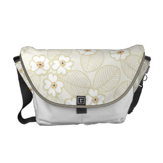 Soft and Neutral Floral Messenger Bags