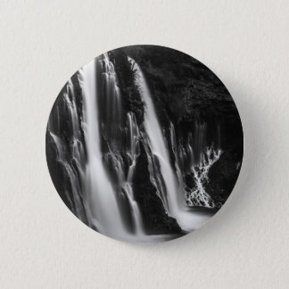 Soft and Smooth Burney Falls 2 Inch Round Button