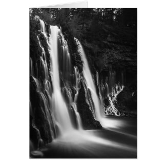 Soft and Smooth Burney Falls Card