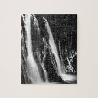 Soft and Smooth Burney Falls Jigsaw Puzzle