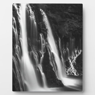 Soft and Smooth Burney Falls Plaque