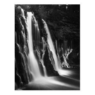 Soft and Smooth Burney Falls Postcard