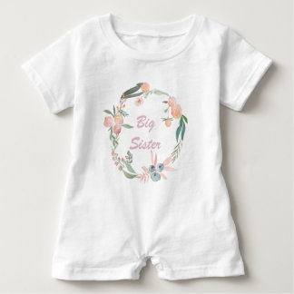 Soft and Sweet BIG Sister Romper