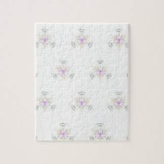 Soft Barely There Pastels Seamless Pattern Jigsaw Puzzle