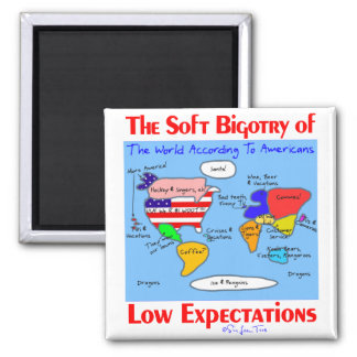 Soft Bigotry Of Low Expectations Magnet