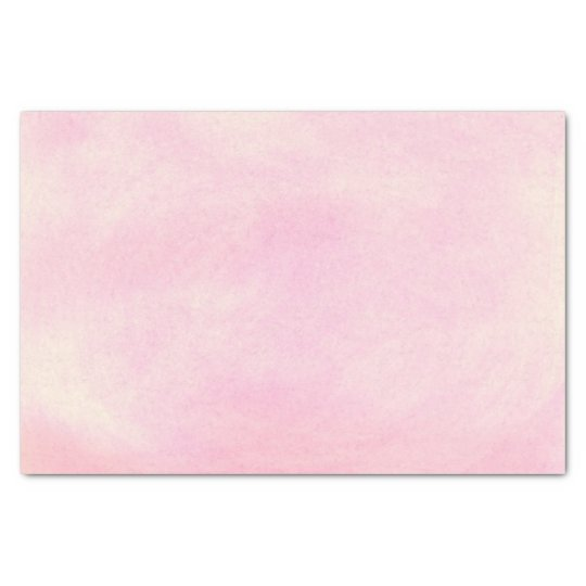 Soft blended pink blends tissue paper