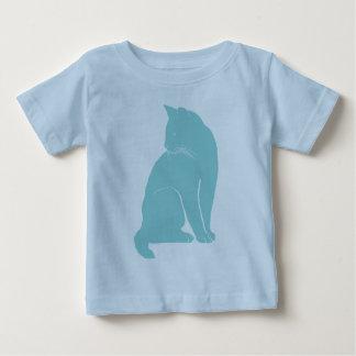 soft blue cat baby T-Shirt