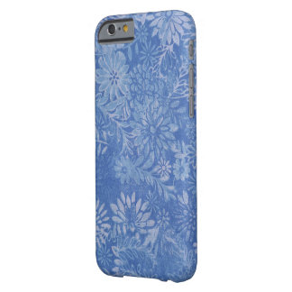 soft blue daisy design barely there iPhone 6 case