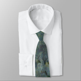 Soft Blue Orchard Regular Tie