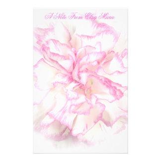 Soft Carnation Stationary Stationery
