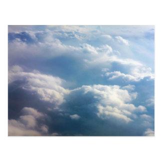 Soft Clouds Postcard