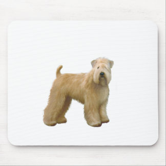 Soft Coated Wheaten Terrier (A)  - stand Mouse Pad