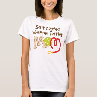 Soft Coated Wheaten Terrier Dog Breed Mom Gift T-Shirt
