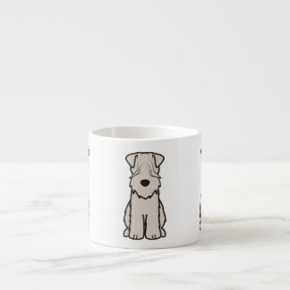 Soft Coated Wheaten Terrier Dog Cartoon Espresso Cup
