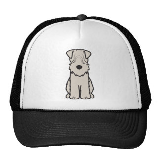 Soft Coated Wheaten Terrier Dog Cartoon Trucker Hat